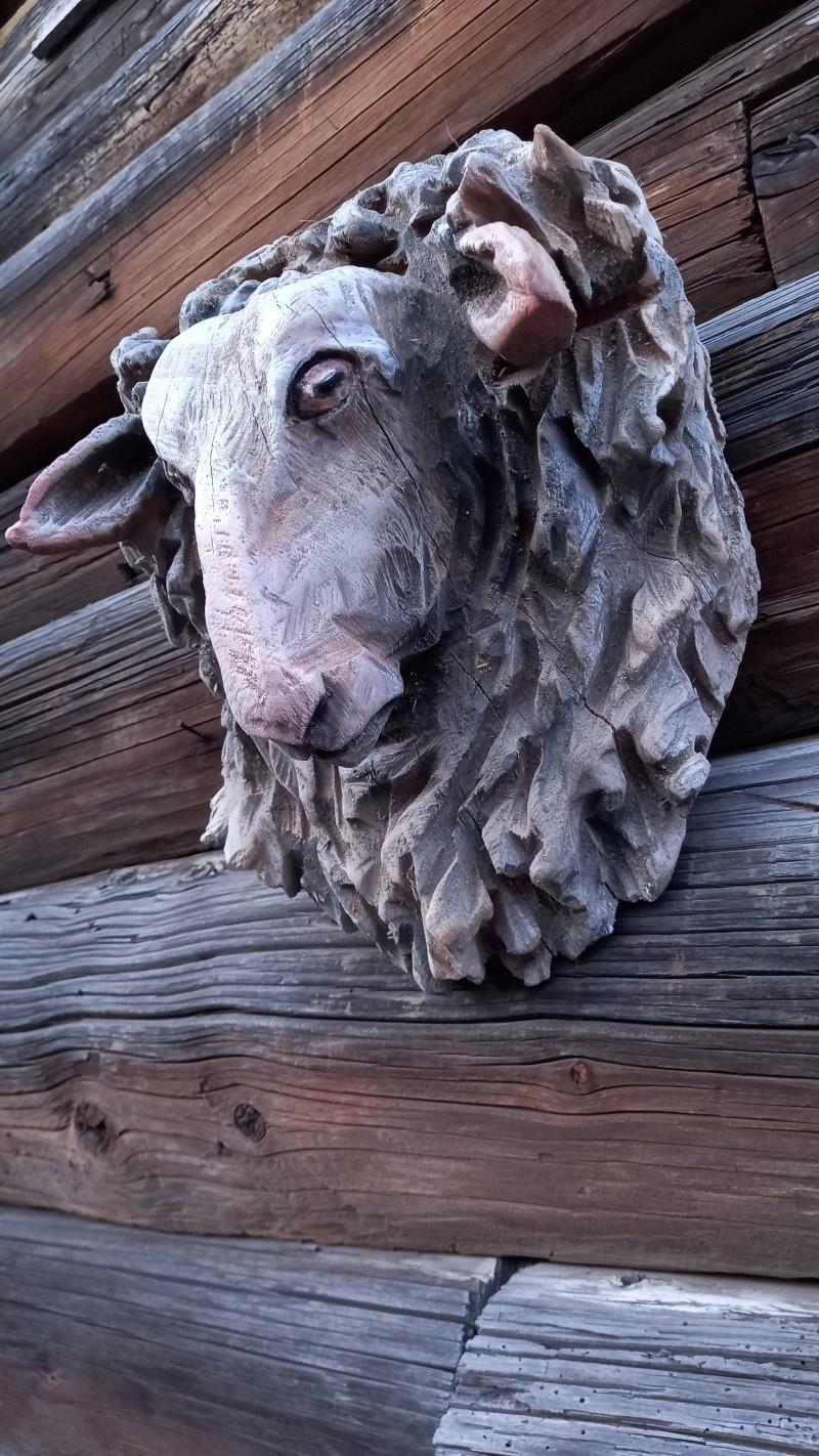 Деревянная скульптура.Резьба бензопилой. - фото 7