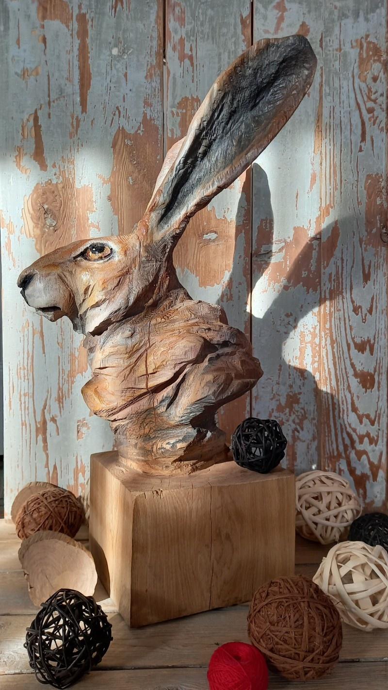 Деревянная скульптура.Резьба бензопилой. - фото 5