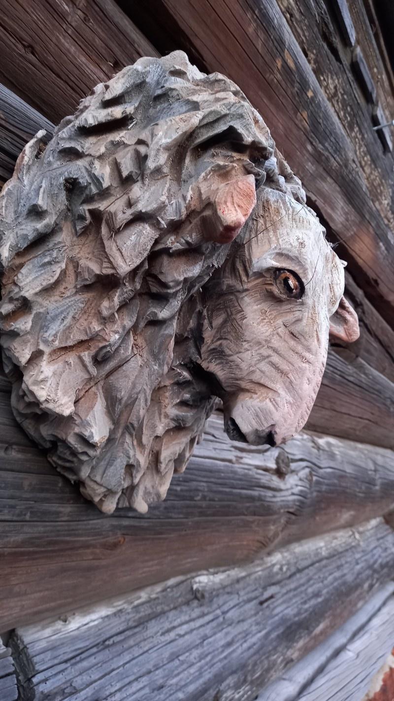 Деревянная скульптура.Резьба бензопилой. - фото 3